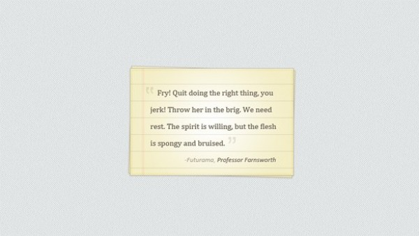 web vintage unique ui elements ui stylish simple quotes quality paper original old notepaper note new modern lined interface hi-res HD fresh free download free elements download detailed design creative clean blockquote