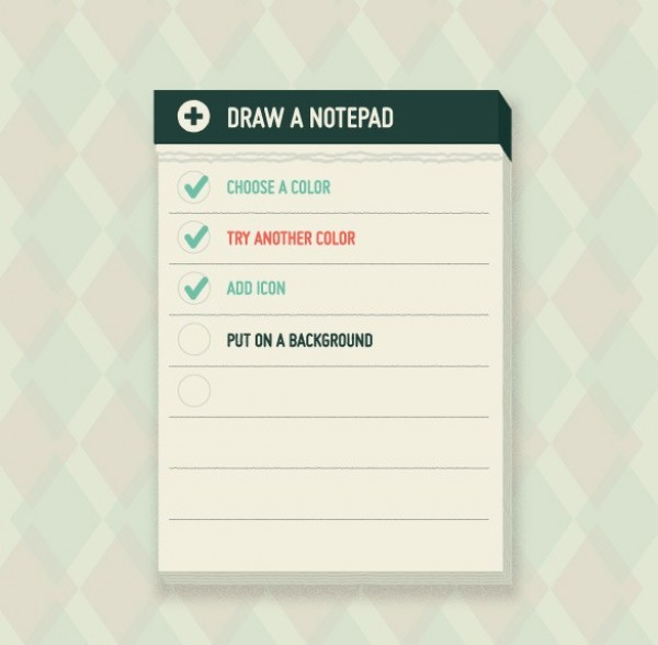 web vector unique ui elements task list stylish quality original notes notepad new list interface illustrator high quality hi-res HD graphic fresh free download free elements download detailed design creative checklist