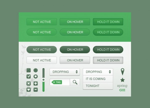 web unique ui set ui kit ui elements ui tag stylish slider simple set search radio button quality original new modern kit interface hi-res header HD gui kit green buttons green fresh free download free elements dropdown download detailed design creative content clean checkbox buttons
