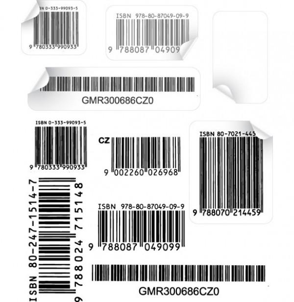 10 Authentic Barcode Vectors - WeLoveSoLo