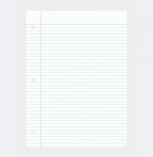 Doc550712 Lined Notebook Paper Template Free Printable Lined – Notebook Paper Template