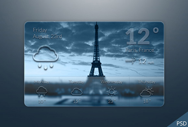 web weather widget weather icons weather forecast weather unique ui elements ui transparent temperature stylish quality psd original new modern interface icons hi-res HD fresh free download free elements download detailed design date creative climate clean city cities background