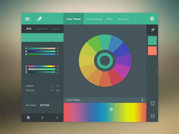 Complete Color Picker Chart Psd Welovesolo