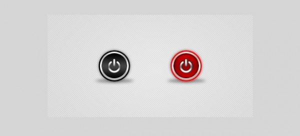 web unique ui elements ui stylish simple round red quality psd power button power original on/off buttons on off on off new modern interface hi-res HD fresh free download free elements download detailed design creative clean buttons black