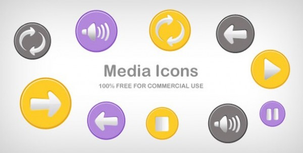 web unique ui elements ui stylish stop speaker set reload quality purple psd png player icons player play pause original next new modern media icons media buttons media interface hi-res HD fresh free download free elements download detailed design creative clean back