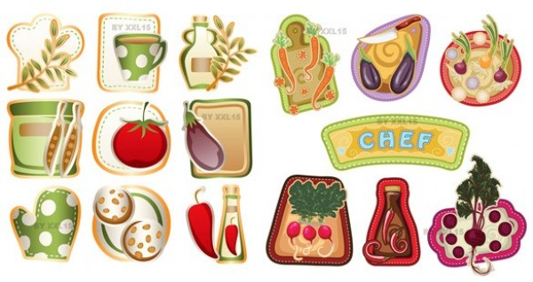 web vegetable label unique ui elements ui stylish stickers simple set quality original new modern labels kitchen interface icons hi-res HD fresh free download free elements download detailed design creative country kitchen cooking clean