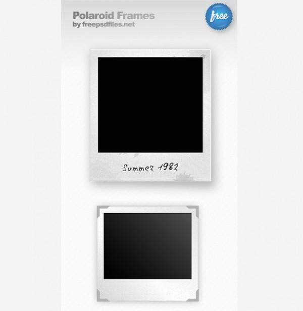 Polaroid Frame Psd