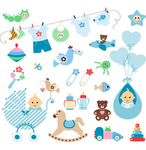 web vector unique ui elements toys top teddy bear stylish rocking horse rattle quality original new interface illustrator high quality hi-res HD graphic fresh free download free EPS elements download detailed design creative clothing clothesline clothes buggy boy blue balloons baby pins baby elements baby bottle baby