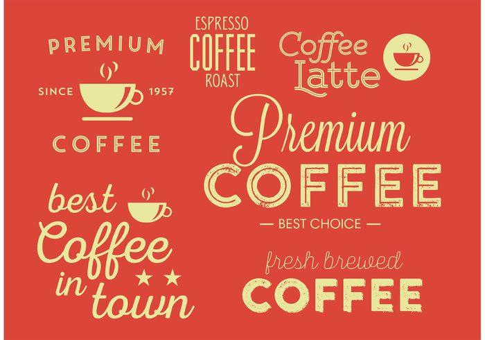 vintage typographic coffee sign retro product premium mug label espresso cup coffee wallpaper coffee typography coffee poster coffee background coffee cafe sign cafe