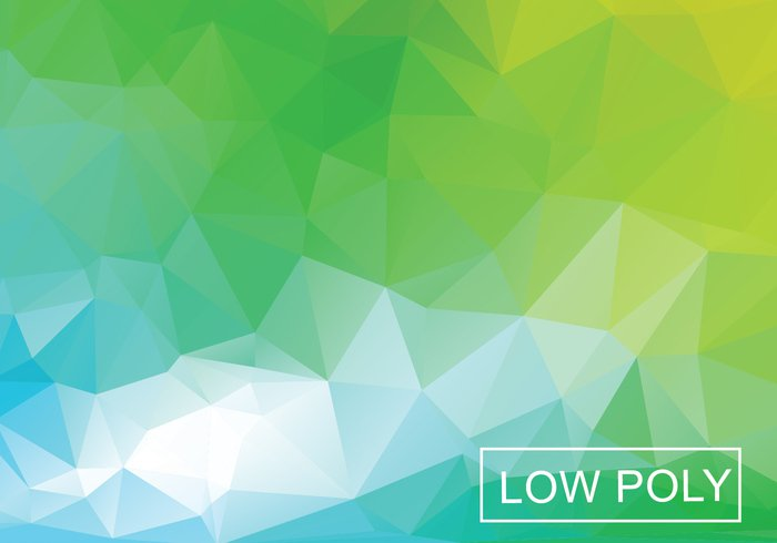 003ntrvuvznkp02 Green Geometric Low Poly Style Illustration Vector
