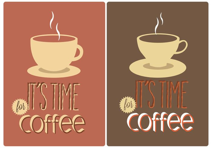 vintage time for coffee retro restaurant mug menu latte hot espresso drinks cup coffee typography coffee time coffee sign coffee poster coffee background coffee breakfast bean aroma