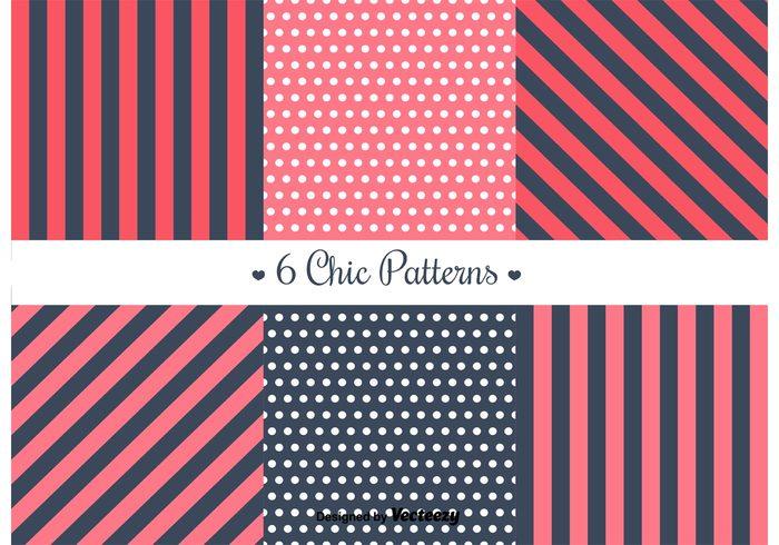 vintage stripes striped pattern stripe stationary shabby chic shabby seamless scrap retro pretty polka dot pattern polka dot pattern paper love fabric elements element decoration chic borders background