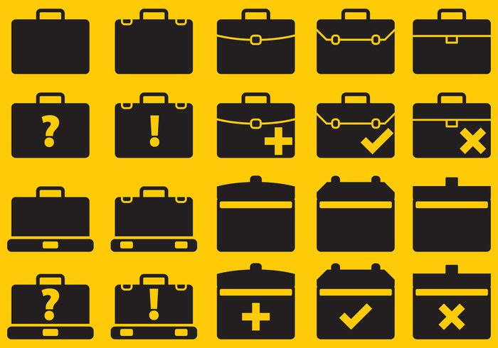 work symbol suitcase suit style sign portfolio open suitcases open suitcase office object modern luggage label isolated icon handle design case button business briefcase brief black baggage bag background accessory