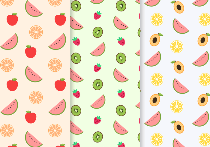 watermellon summer strawberry spring seamless pattern seamless pear pattern orange natural mellon lemon leaves leaf kiwi Healthy fruit food decor Berry background avocado apple
