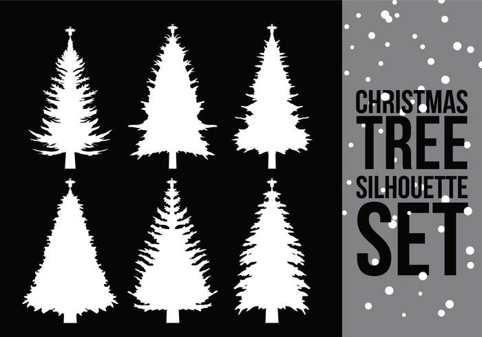 xmas vector tree symbol silhouette shapes natural merry isolated illustration holiday element December chrismast tree silhouette chrismast branchm nature black and white background artwork art