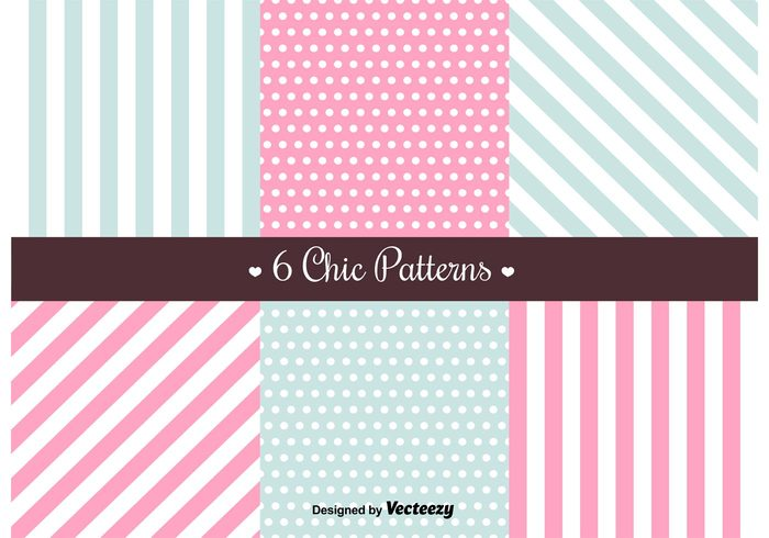 vintage vector stripe stationary shabby chic shabby set seamless scrap romantic retro pretty polka dot pattern paper love free fabric elements element decoration chic borders background