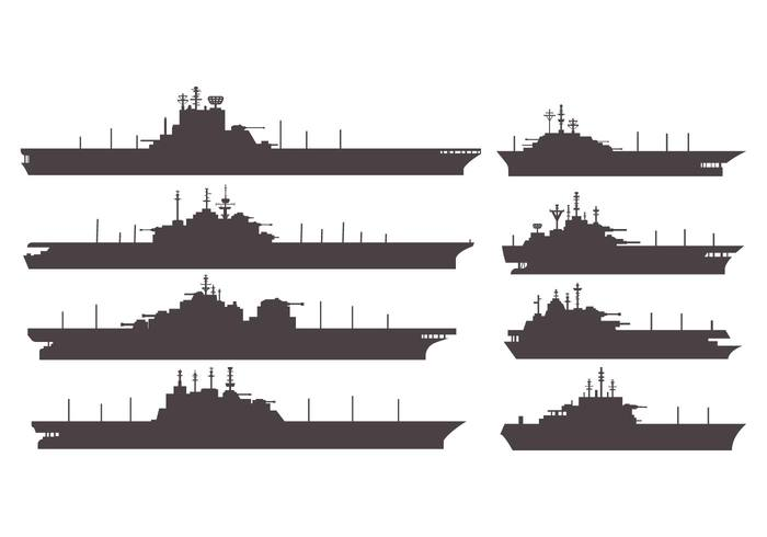 00x2jhajfvntg48 Free Silhouettes  Aircraft Carrier Vector