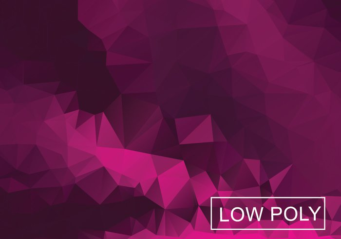 00xvrcfznk2ut13 Magenta Geometric Low Poly Style Illustration Vector