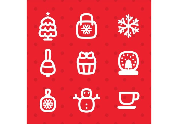 xmas tree xmas icon xmas balls xmas winter weather tree snowman snow season merry christmas icons Hot Drink holiday Glass ball gift box gift festivity festive clothes Christmas icon christmas chistmas tree celebration