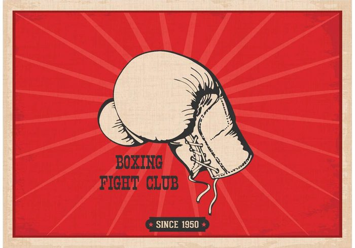 wallpaper vintage vector sports retro Punch protection power poster old time boxing leather kickboxing individual image illustration graphic glove fist fighting equipment draw design Concepts competition boxing boxer background art