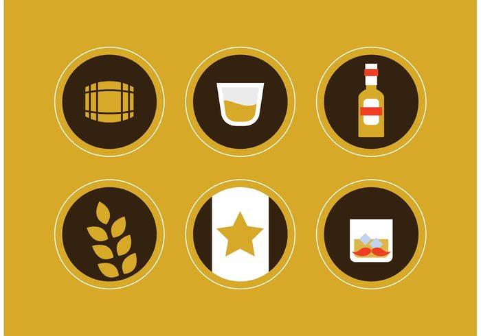01nxfyhn4de1339 Whiskey Vector Icons 267821
