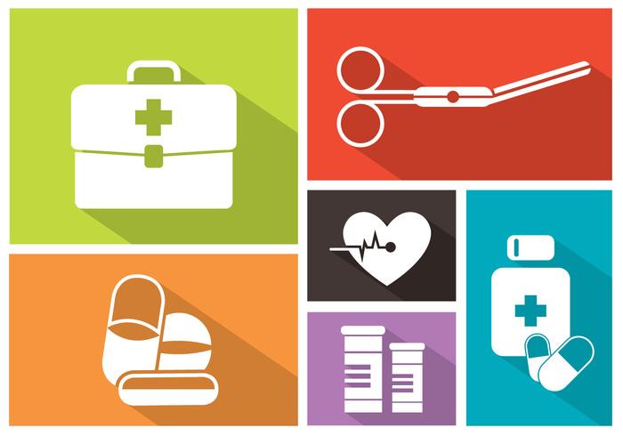 web syringe symbol sign set pulse pill pharmacy medicine medical illustration icons icon hospital heart monitor heart health flat emergency care background aid