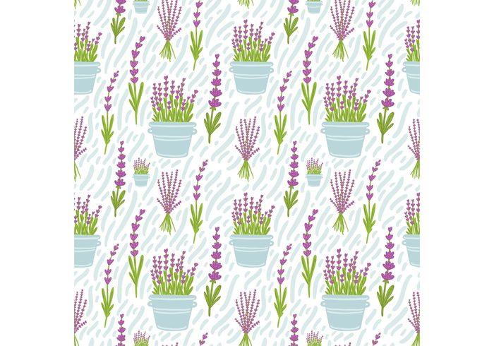 seamless plant pattern pattern nature lavender plant lavender pattern lavender flower pattern lavender flower Lavender herbs herb pot Herb hand drawn flower green flower pot flower pattern flower beauty