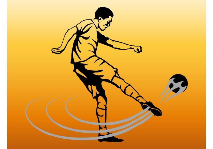 teenager sport soccer shoot professional player play Match man leisure league kick Hobby game football fitness boy ball active action
