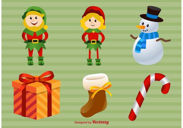 xmas present xmas winter snowman season santas elves santa's elf santa claus santa peppermint candy merry christmas merry joy holiday happy gift elves December cute christmas present christmas characters character celebration cartoon