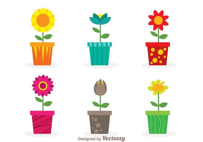 summer Potted plants pot planters planter plant nature leaf House plant grow garden flower pot flower planter flower floral cartoon beauty
