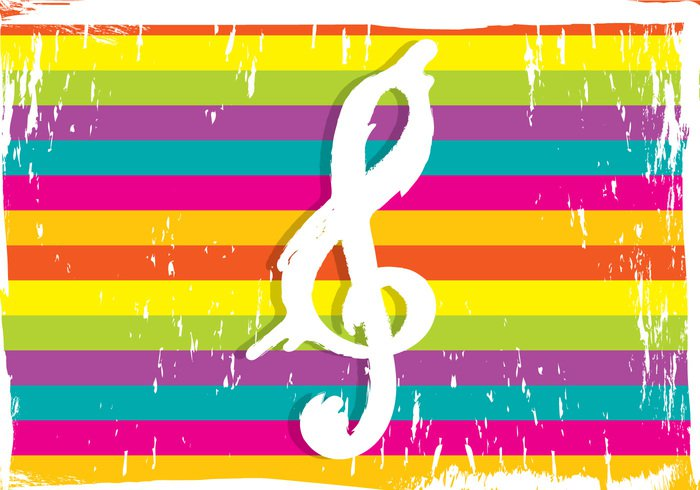 violin symbol note musical music melody key classical artistic art