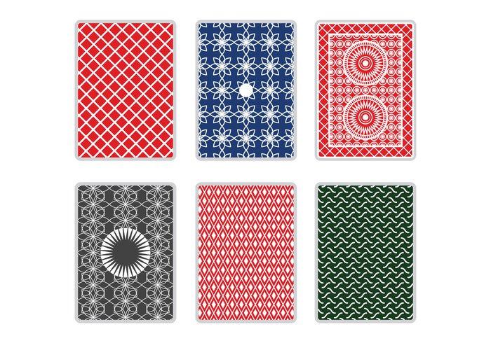 symbol spade side printing poker playing card back playing card playing pattern magic game gamble floral elegant design decorative deck card border Blackjack background back
