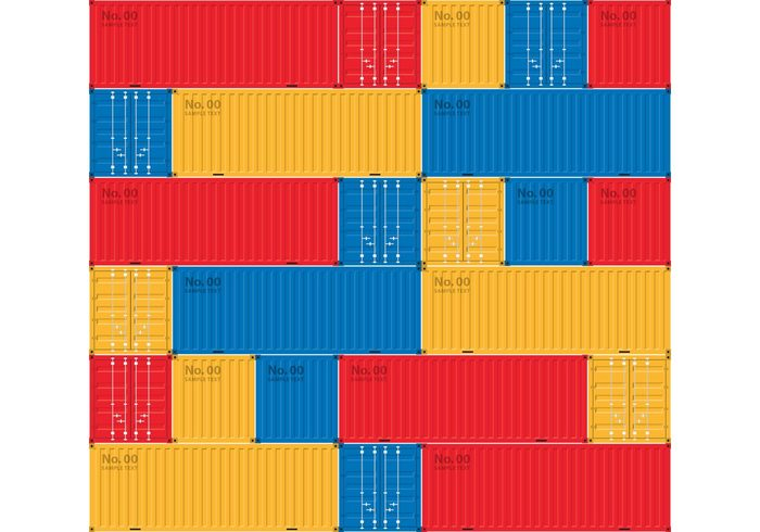 warehouse vessel transportation transport trade side shipping shipment seamless pattern metal merchandise isolated industry industrial import goods freight Export dockside distribution delivery container ship container commercial commerce color cargo background