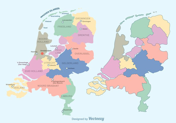 vector Union state silhouette realm province outline netherlands map Netherlands national nation map land illustration Holland geography european Europe euro Dutch District Detail country contour community city Boundary borders background atlas amsterdam