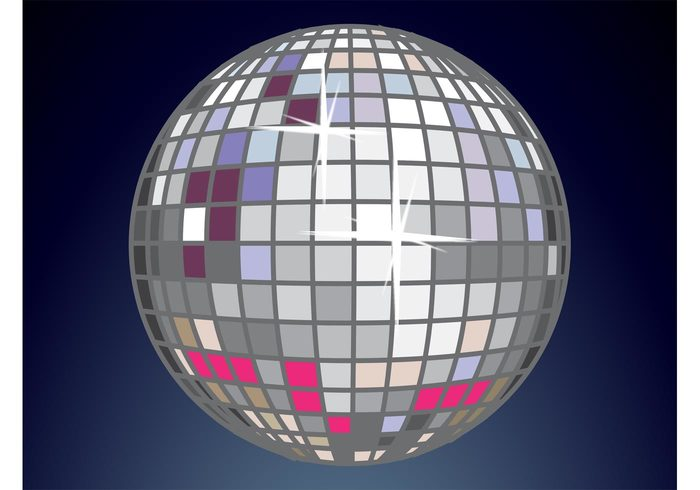 sparkle Song party nightlife music mirror ball mirror Glitter ball Glam flyer DJ dancing dance club bar