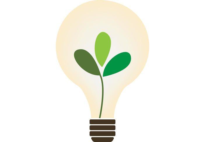 power plant organic nature lightbulb light bulb light leaves leaf Idea green glass energy electricity electric creativity creative concept