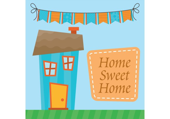window warm urban town sweet structure shop roof Place Outdoor key house home family door cute city cartoon card building background architecture address