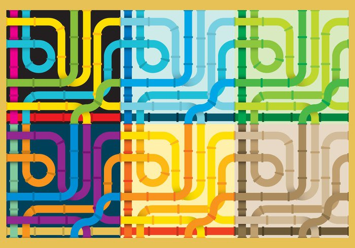 water slide water wallpaper vector tubing tube system summer silhouette seamless play pipeline pipe pattern industry illustration graphic game funny fun elements design construction connection communication color background
