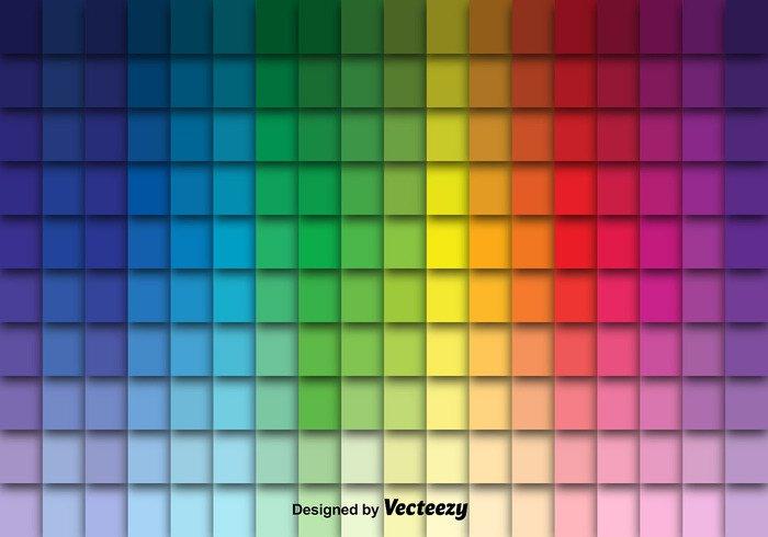 watercolor vibrant variation Tone tile swatch spectrum Saturation Sample rgb rainbow process print pigment paper pantone palette ink illustration guide colorful color swatches color collection cmyk Chromatic background
