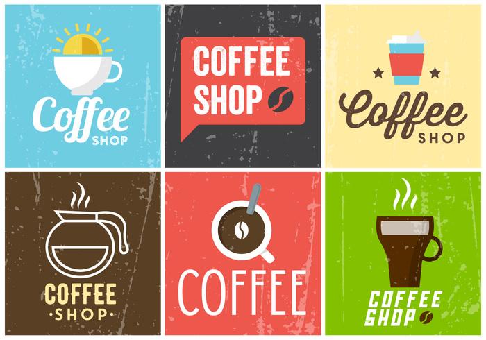 vintage typography tea symbol sun style sign shop set retro poster old mug logo label insignia illustration icon grunge graphic fresh espresso cup coffee sleeve coffee cafe bean background art advertising