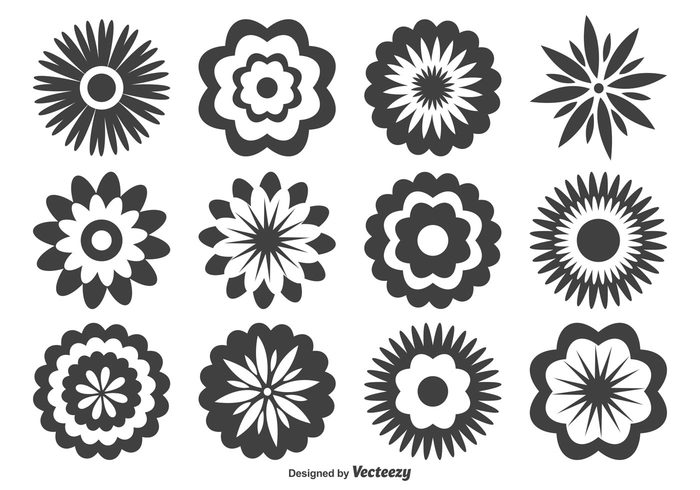 Assorted Flower Shapes 103797