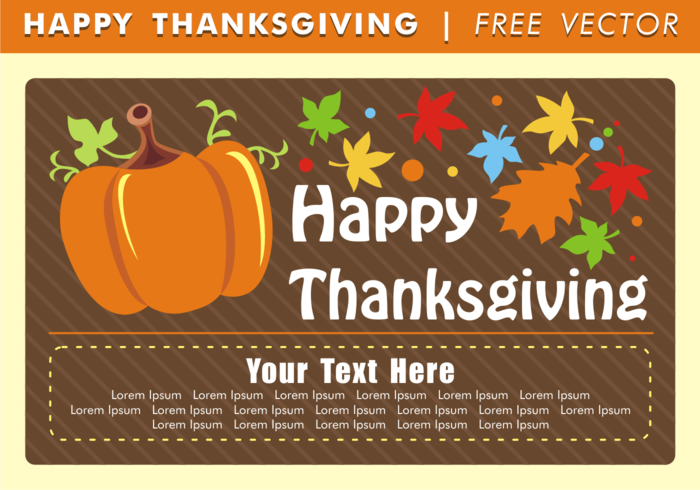 your text here vector thanksgiving vector thanksgiving thanks sharing time share shapes pumpkin party lorem ipsum thanksgiving card - Free Thanksgiving Cards