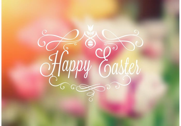 typography typographic type text swirl spring scroll script retro ornament note message Lettering label holiday headline happy easter handwritten Handwriting handlettering greeting font festive egg easter wallpaper easter background easter decorative decoration card calligraphy calligraphic blurred banner background