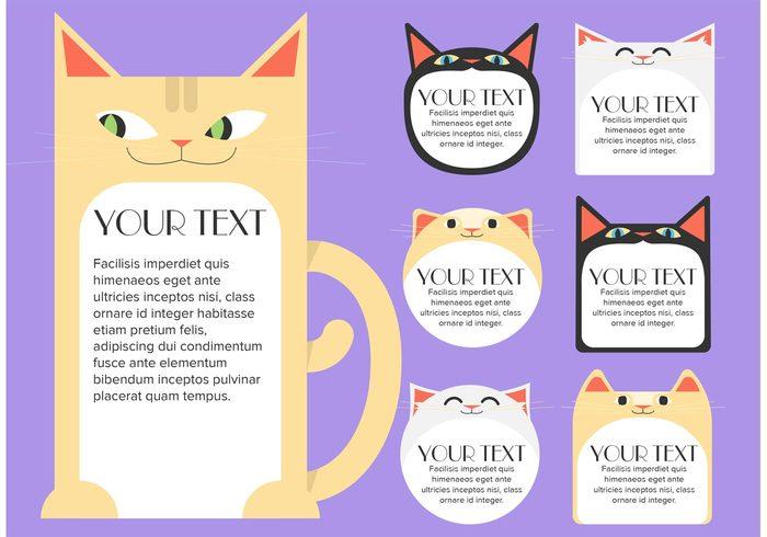 text box templates text box text templates template kitty kitten text kitten sign kitten feline sign Feline editable customizable cat text template cat text cat sign cat