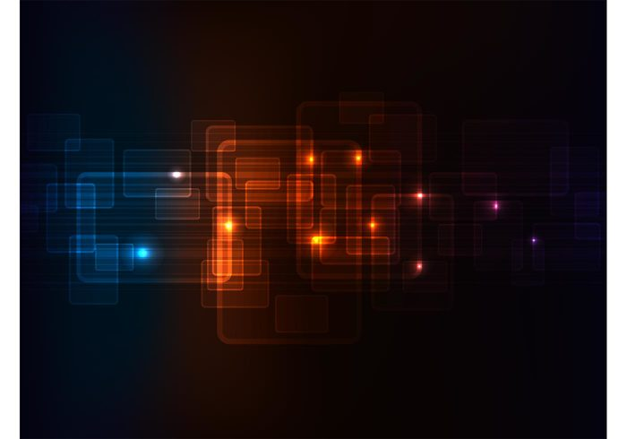 wallpaper Rectangles lights glowing glow Geometry geometric shapes background backdrop abstract