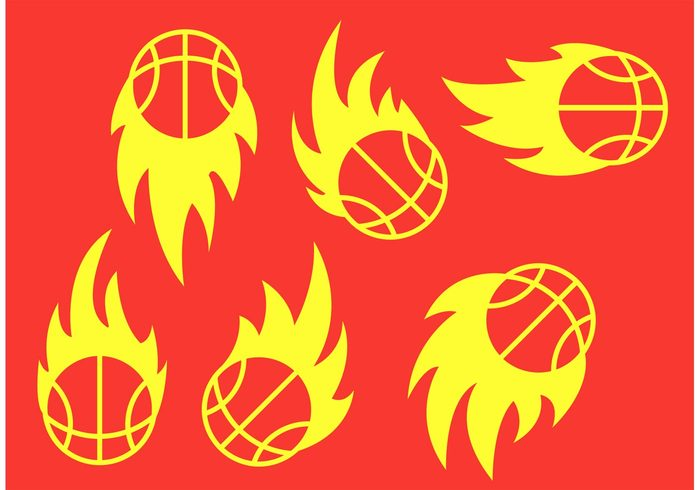 victory Team sport sports sport orange flaming ball flaming flame fire competition basketballs basketball team basketball on fire basketball logo basketball ball