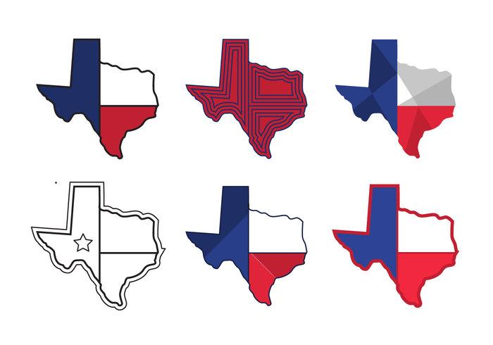 Texas Map Vector Icons 1 147578 Welovesolo