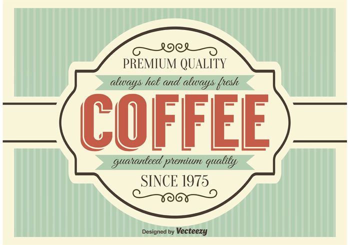 vintage vector style sign shop roaster Roast Retro style retro restaurant quality premium coffee premium old latte label espresso design element design cup coffee product coffee poster coffee label coffee background coffee classic cafe business banner art