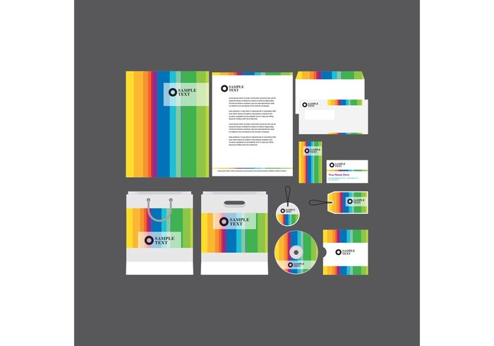 work white template stationery set print paper page package office modern mockup letterhead isolated identity set identity folder envelope editable disc cover corporate company profile template company CD card business branding brand blank bag background advertising