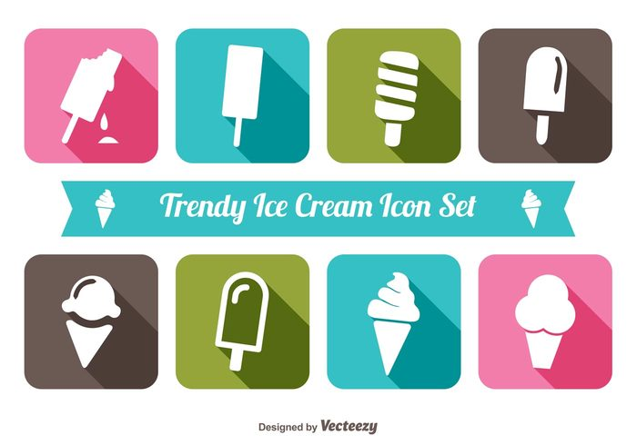 trendy icons trendy Tasty sweet snack scoop popcycle Pint party menu long shadow icons long shadow ice cream icon set ice cream icon ice cream cone ice cream ice fruit frozen pop frozen food flavor dessert cream colorful cold